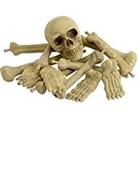 Sac d'Os de Squelette avec Crâne