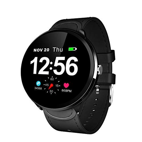 Business Smart Watch, Dkings Anruferinnerung SMS-Erinnerung Gesundheit HR mit Herzfrequenz-Blutdruckmessgerät für Männer Frauen (Uhr Gesundheit-band)