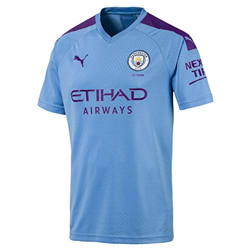 Puma Manchester City Home Trikot 19/20 (L, Blue) -