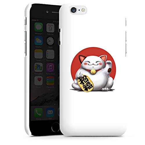 Apple iPhone X Silikon Hülle Case Schutzhülle Kawaii Katze Japan Premium Case matt