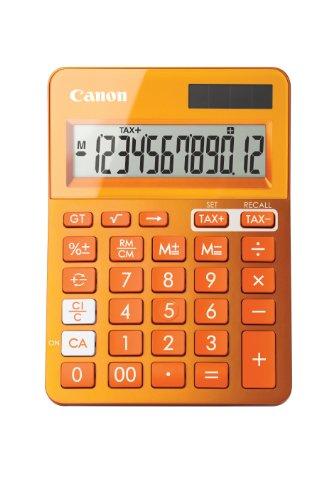 Canon 9490B004AA Tischrechner LS-123K-MOR, orange
