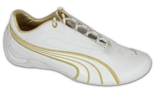 Puma - Baskets modèle garçon à lacets cuir décontracté 302690 neuf
