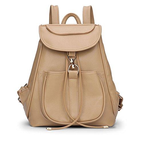 Dissa® S700 femme Sacs portés dos,Sacs bandoulière,28x33x16(BxHxT) Kaki