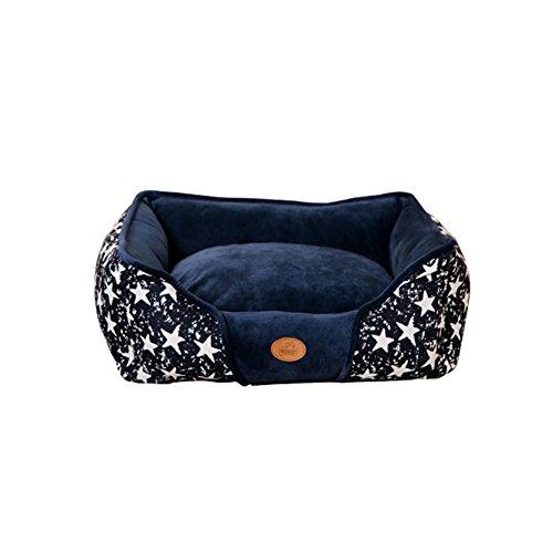 Bett Harten Hund Großen (YNZYOG Zwinger-Katzen-Haus-Winter-warme kleine und mittelgroße Hunde-Haustier-Teddy-Hundematratze-abnehmbare Vorräte ( größe : Xs ))