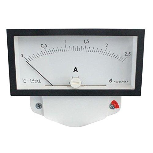 Analoges Messinstrument 0-2,5A Amperemeter ; Neuberger