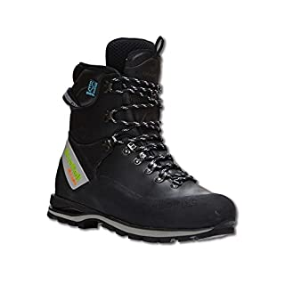 Arbortec Scafell Lite leather chainsaw boots (black) (class 2) (45)