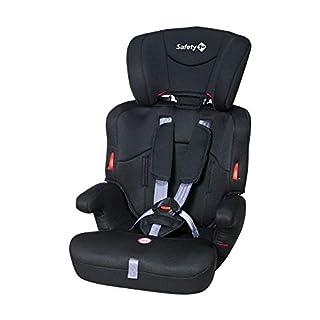 Safety 1st Ever Safe Auto-Kindersitz 9-36 kg, mitwachsender Gruppe 1/2/3 ab ca. 12 M. bis 12 J., full black (schwarz)