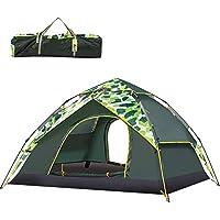 Nalanda Tende Istantanea per 3-4 Persone, Tenda Idraulica Automatica Pop-up della Tenda della Famiglia per Il Campeggio all'aperto (230 * 200 * 140cm)