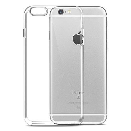 Ylife Hülle Kompatibel iPhone 6, Hülle Kompatibel iPhone 6s, Ultra Dünn Transparent Weiche Silikon TPU Handyhülle, Anti-Fingerabdruck, Anti-Kratz Schutzhülle, Clear Case Cover