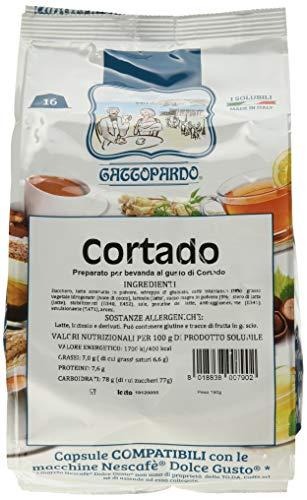 Gattopardo Capsule di Cortado, Comp. Dolce Gusto - 96 pezzi