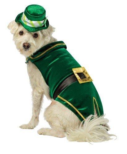haun Hund Kostüm, X-Small, Grün ()