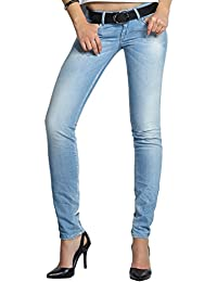 SALSA Jeans Wonder Push Up avec détails zip