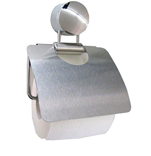 BisBro Deluxe - Toilettenpapierhalter aus Edelstahl - stilvolles Design