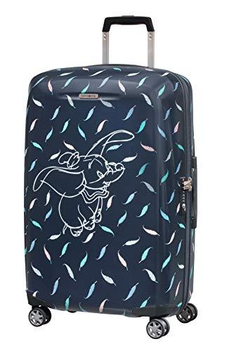Samsonite Disney Forever Spinner Valigia 69 Cm, 67 L, Blu (Dumbo Feathers)