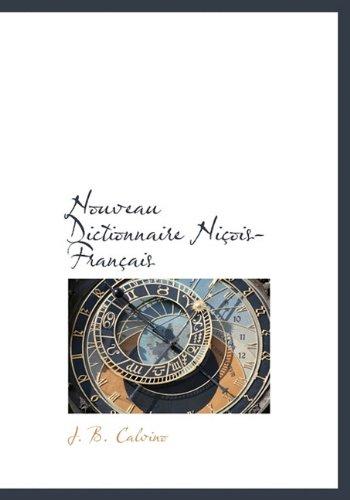 Nouveau Dictionnaire Ni OIS-Fran Ais