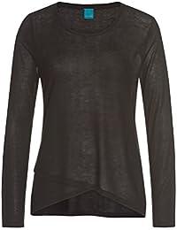 Strickkleid Pullover Kette Sweatshirt Einheitsgröße 34 36 38 40 grau hellgrau