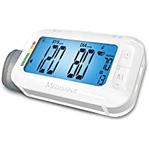 Medisana Number BU 575 Connect 2-in-1 Upper Arm Blood Pressure Monitor with Bluetooth and Integrated Travel Alarm Clock by Medisana