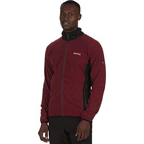 Regatta Mens Ashton Full Zip Lightweight Stretch Fleece Jacket