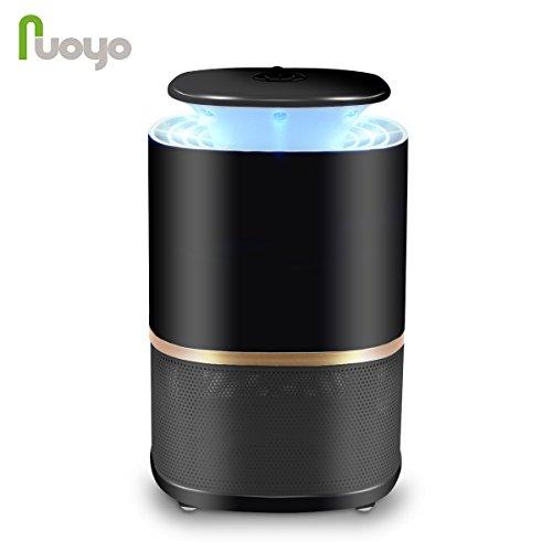 NuoYo Lampe Anti-moustique LED/USB Photocatalyst 12V Zapper Lampe 60 m² UV-Licht 3w es Meilleures Sécurises et...
