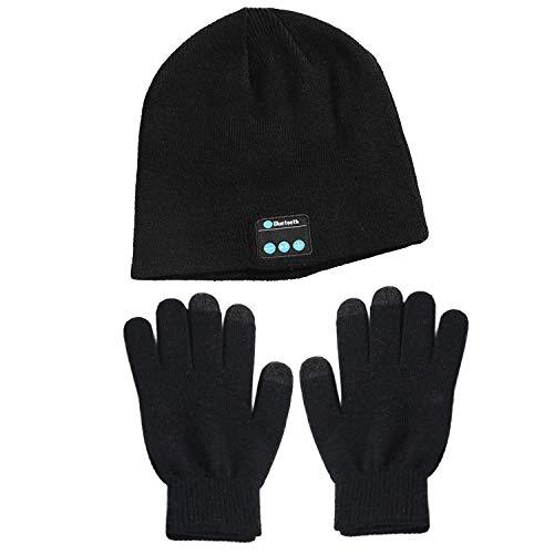 1 par invierno cálido antideslizante punto guantes