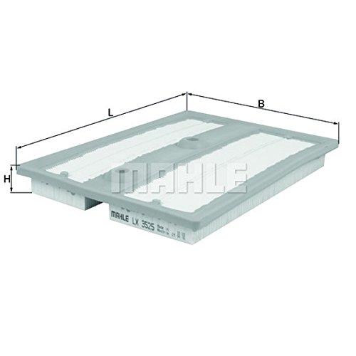 Luftfilter Filter original MAHLE (LX 3525)
