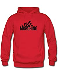 Love Moschino Printed For Boys Girls Hoodies Sweatshirts Pullover Outlet