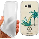 CUSTODIA COVER CASE DISEGNO SCARPA PER SAMSUNG GALAXY TREND PLUS S7580