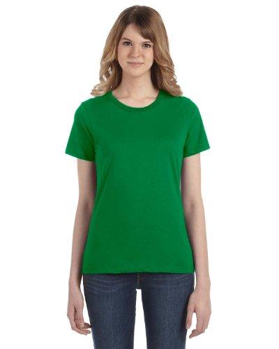 Anvil - Maglietta 100% Cotone - Donna verde - verde