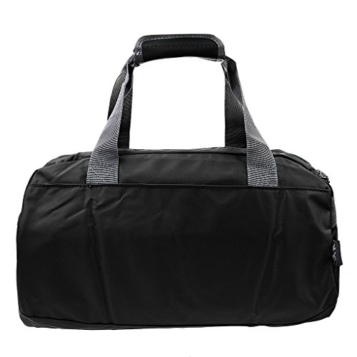Sharplace Portatile Impermeabile Borsa Tracolla Sacchetto per Viaggio Esercizio Bagaglio Casuale Nero