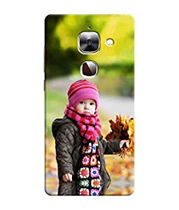 Sketchfab A Cute Girl In Winnter Latest Design High Quality Printed Designer Back Case Cover For LeEco Le 2