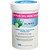 Almay Moisturizing Eye Makeup Remover Pads, 120 Pads by Revlon Consumer Products Corp.