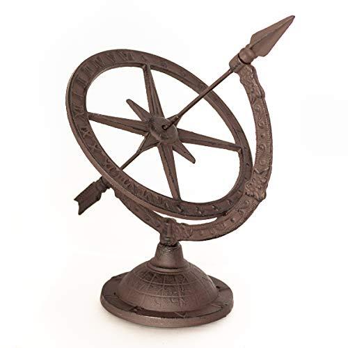 Antikas - reloj de sol - reloj astrológica - hora sombra jardín - relojes de sol terraza patio