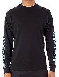 Tee shirt à manches longues Santa Cruz Party Dot Noir