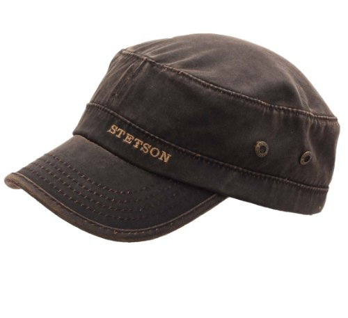 Stetson - Casquette Militaire Homme Datto CO/PE - Taille L
