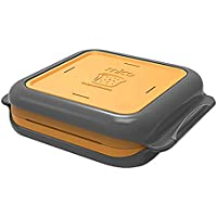 Morphy Richards Microwave Cookware MICO Toasted Sandwich Maker 511647 MICO Microwave Cookware Toastie Maker, Orange