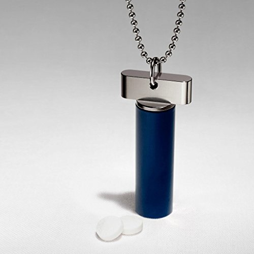 cielo-royal-collection-the-sleek-slender-navy-stainless-steel-keychain-pill-fob-holder-pill-titulair