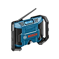 Bosch Professional GML 10.8 V-LI Cordless Jobsite Site Radio (Without Battery and Charger) - Carton