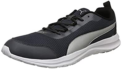 Puma Men's Dark Shadow Silver Black Sneakers-6 UK/India (39 EU) (4060978759382)