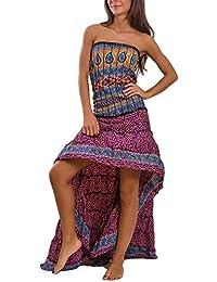 newest 7dc98 ae558 Amazon.it: vestito etnico - Donna: Abbigliamento