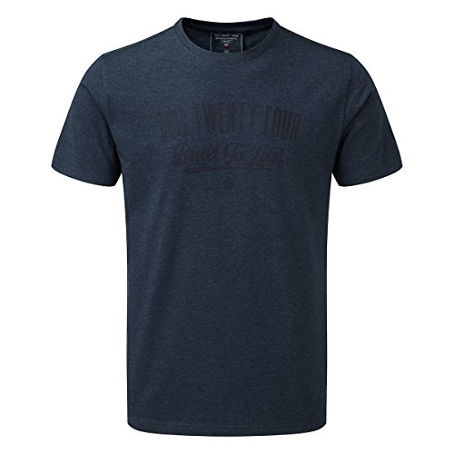 tog-24-roberts-mens-t-shirt-makers-mark-navy-marl-male-size-xxl-colour-blue