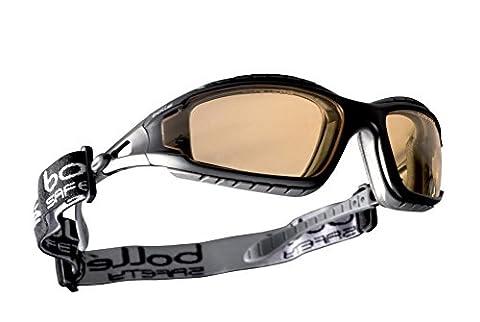 Bollé - Tracker II - Lunettes de Sécurité - Yellow Lens