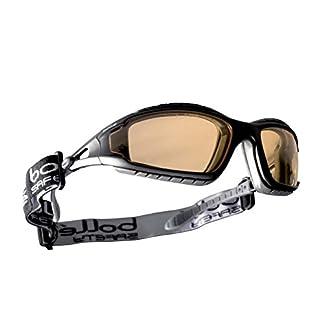 Bolle TRACPSJ Tracker – Gafas de seguridad, color amarillo