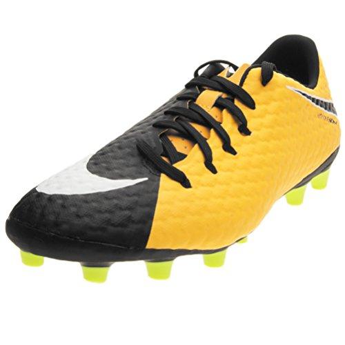 Nike Hypervenom Phelon Iii AG Pro, Herren FußBallschuhe Orange Orange/Schwarz, Orange - Orange/Schwarz - GrÃße: 45