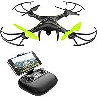 Drone con Telecamera Potensic Quadricottero Telecomando WIFI FPV Dotato delle Funzione Modalita Senza Testa, Manutenzione dell'altitudine, Pianificazione delle Rotta di Volo, Adatto a Principianti