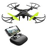 Drone con Telecamera Potensic Quadricottero Telecomando WIFI FPV Dotato delle...