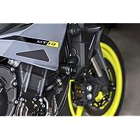 blau XX ecommerce Motorrad Front /& Hinterachse Gabel Guard Crash Rahmen Schieberegler Rad Displayschutzfolie Gap Pad f/ür 2016 2018/Yamaha mt-10/fz-10