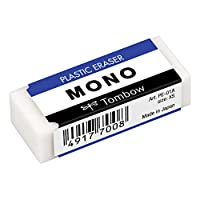 Tombow Mono Silgi, 17X11X43Mm, Beyaz