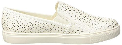 North Star 5311124, Sneaker a Collo Alto Donna Bianco