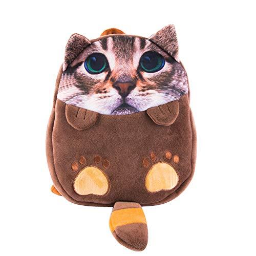 Bfmyxgs Mother es Day Kids Cartoon Cat Backpack Kindergarten Children Cute School Bag Baby Schoolbag Totes Rucksack Schulsack Schultaschen Totes Waist Tasche Tasche Tasche Tasche Brustpaket