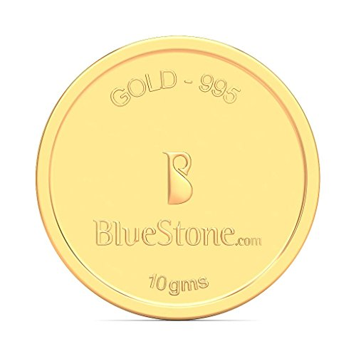 BlueStone BIS Hallmarked 10 grams 24k (995) Yellow Gold Precious...